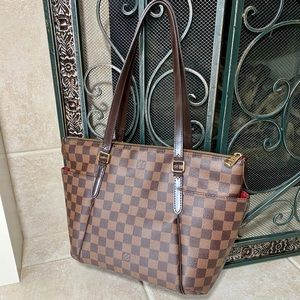 Authentic Louis Vuitton Totally PM Damier Ebene